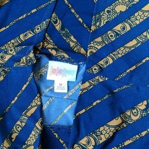 LuLaRoe Skirts - Medium LuLaRoe Navy blue maxi skirt